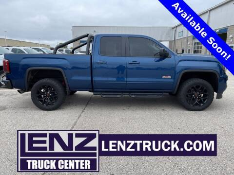 2017 GMC Sierra 1500 for sale at LENZ TRUCK CENTER in Fond Du Lac WI