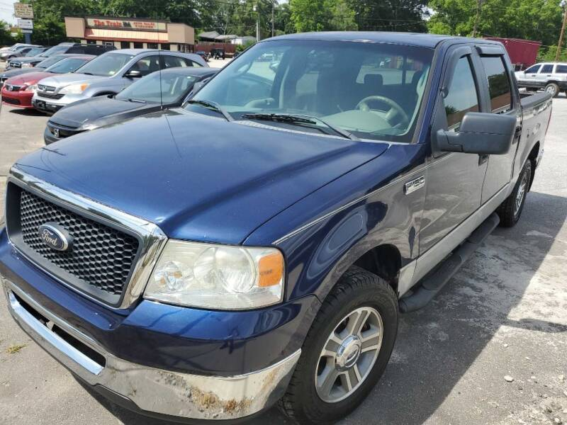 2007 Ford F-150 for sale at THE TRAIN AUTO SALES & RENTALS in Taylors SC