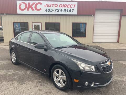 2013 Chevrolet Cruze for sale at OKC Auto Direct in Oklahoma City OK