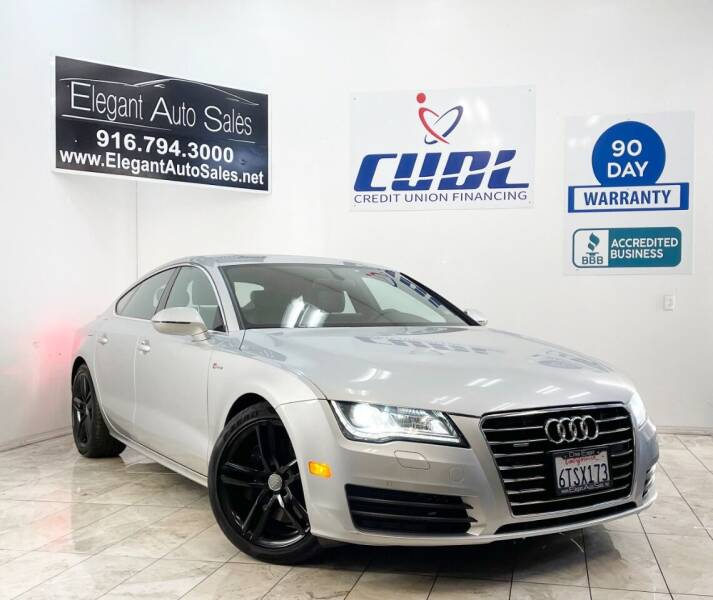 2012 Audi A7 for sale at Elegant Auto Sales in Rancho Cordova CA