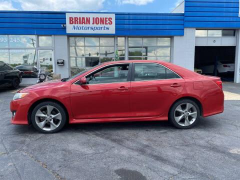 2012 Toyota Camry for sale at Brian Jones Motorsports Inc in Danville VA