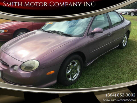 1996 Ford Taurus for sale at Smith Motor Company INC in Mc Cormick SC