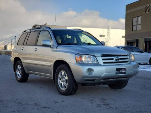 2007 Toyota Highlander for sale at FRESH TREAD AUTO LLC in Springville UT