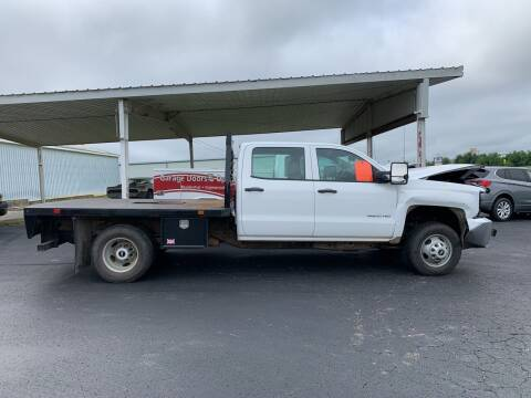2017 Chevrolet Silverado 3500HD CC for sale at B & W Auto in Campbellsville KY