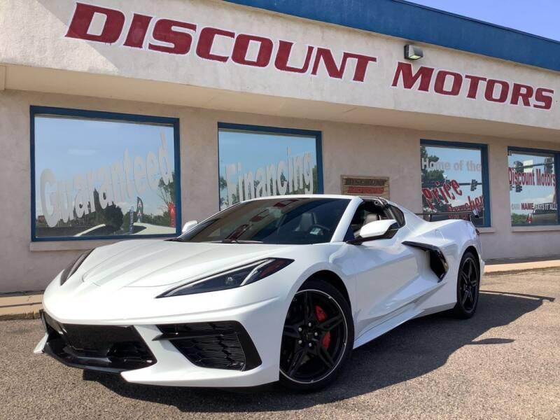 2020 Chevrolet Corvette for sale at Discount Motors in Pueblo CO