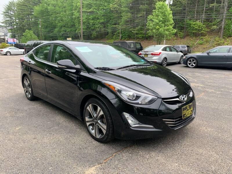 2015 Hyundai Elantra for sale at Bladecki Auto LLC in Belmont NH