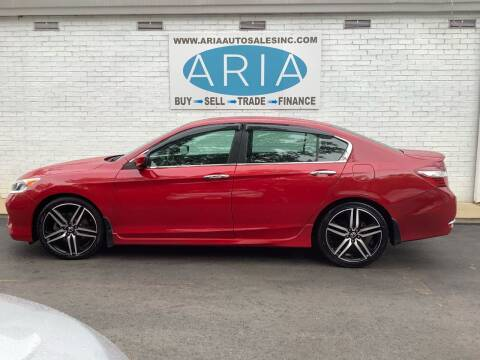 2016 Honda Accord for sale at ARIA AUTO SALES INC.COM in Raleigh NC