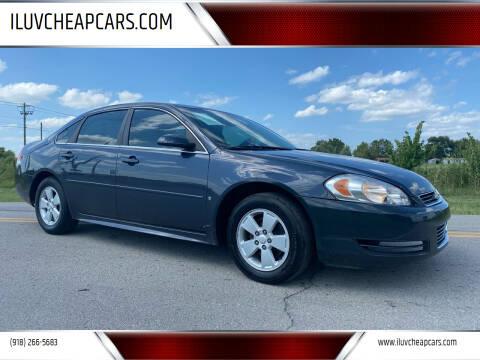 2009 Chevrolet Impala for sale at ILUVCHEAPCARS.COM in Tulsa OK