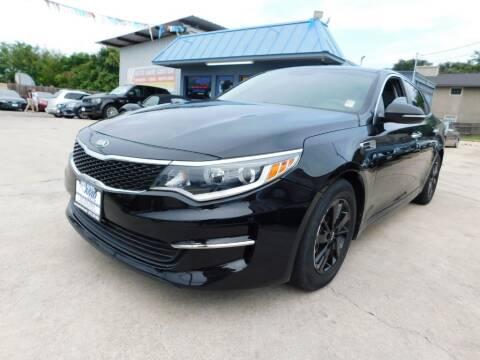 2016 Kia Optima for sale at AMD AUTO in San Antonio TX