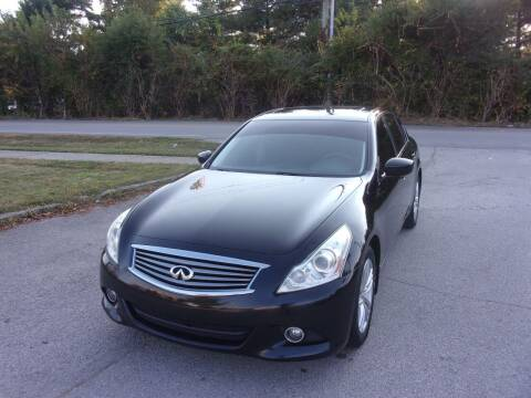 2012 Infiniti G37 Sedan for sale at Auto Sales Sheila, Inc in Louisville KY