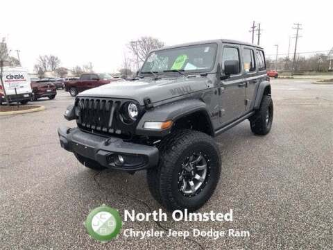 2020 Jeep Wrangler Unlimited for sale at North Olmsted Chrysler Jeep Dodge Ram in North Olmsted OH