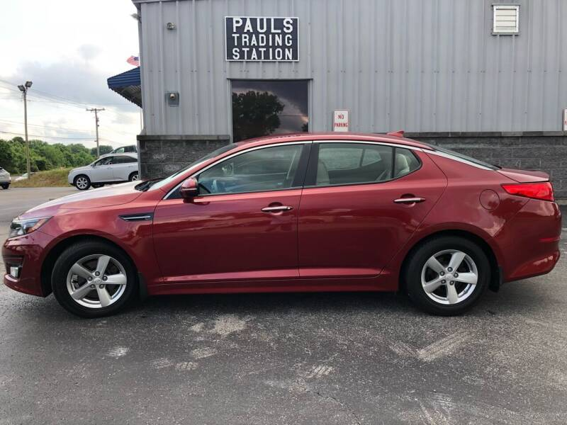 2014 Kia Optima for sale at Ron's Auto Sales (DBA Paul's Trading Station) in Mount Juliet TN