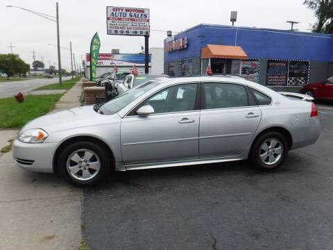 2009 Chevrolet Impala for sale at City Motors Auto Sale LLC in Redford MI