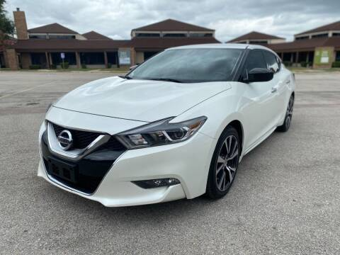 2017 Nissan Maxima for sale at Big Time Motors in Arlington TX