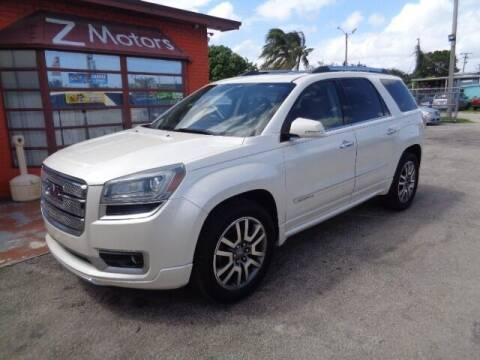 2013 GMC Acadia for sale at Z MOTORS INC in Hollywood FL