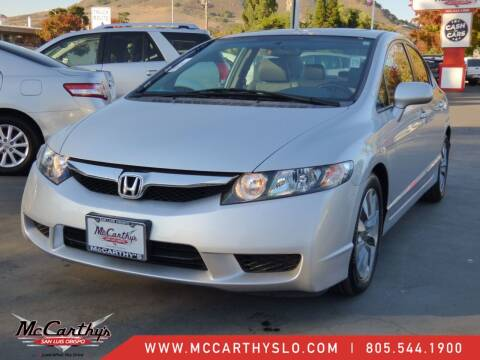 2010 Honda Civic for sale at McCarthy Wholesale in San Luis Obispo CA