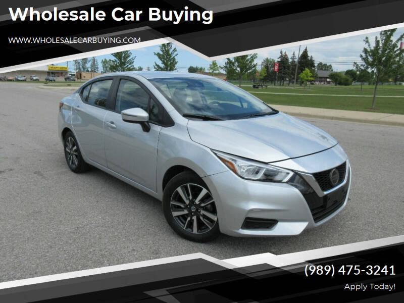 2021 Nissan Versa for sale at Wholesale Car Buying in Saginaw MI
