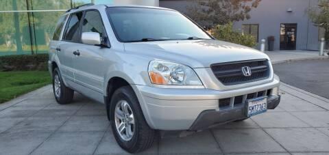 2005 Honda Pilot for sale at Top Motors in San Jose CA
