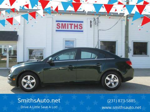 2015 Chevrolet Cruze for sale at SmithsAuto.net in Hart MI