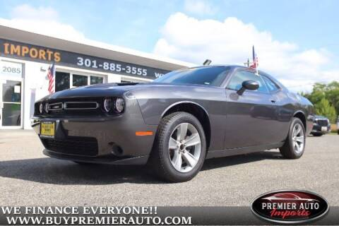 2020 Dodge Challenger for sale at PREMIER AUTO IMPORTS - Temple Hills Location in Temple Hills MD