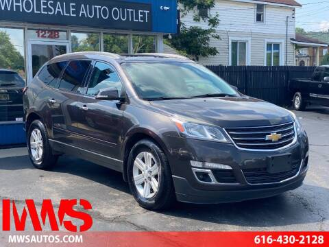 2013 Chevrolet Traverse for sale at MWS Wholesale  Auto Outlet in Grand Rapids MI