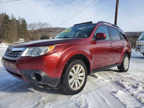 2011 Subaru Forester for sale at Alfred Auto Center in Almond NY
