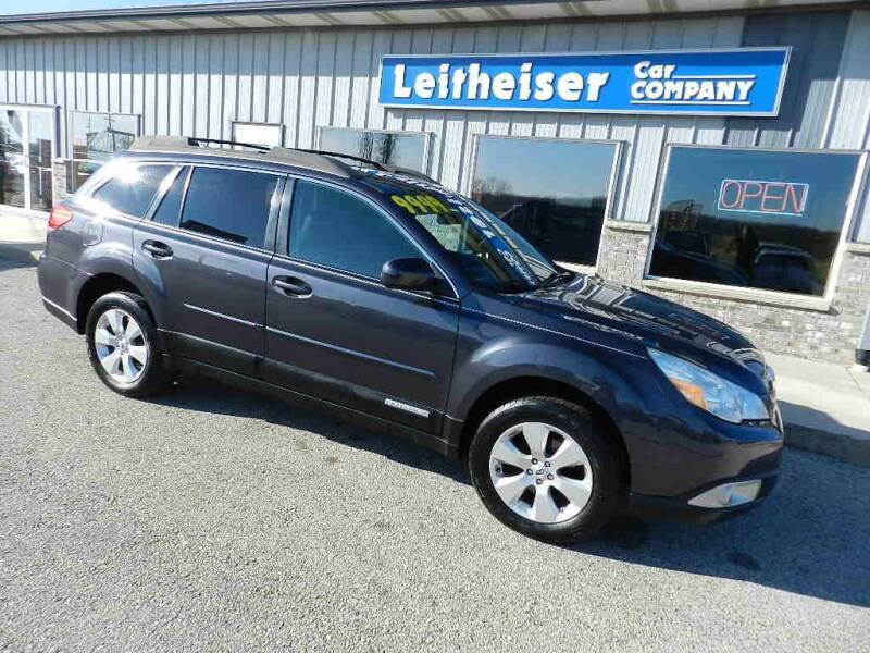 2011 Subaru Outback for sale at Leitheiser Car Company in West Bend WI
