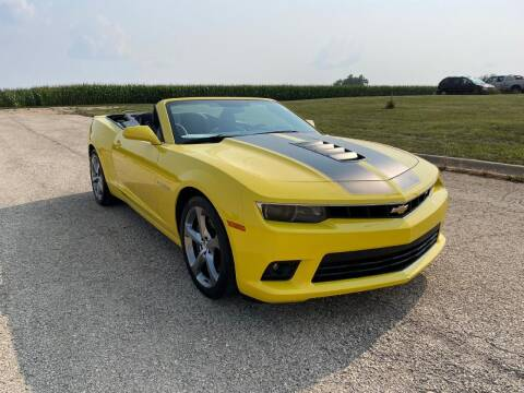 2014 Chevrolet Camaro for sale at Alan Browne Chevy in Genoa IL