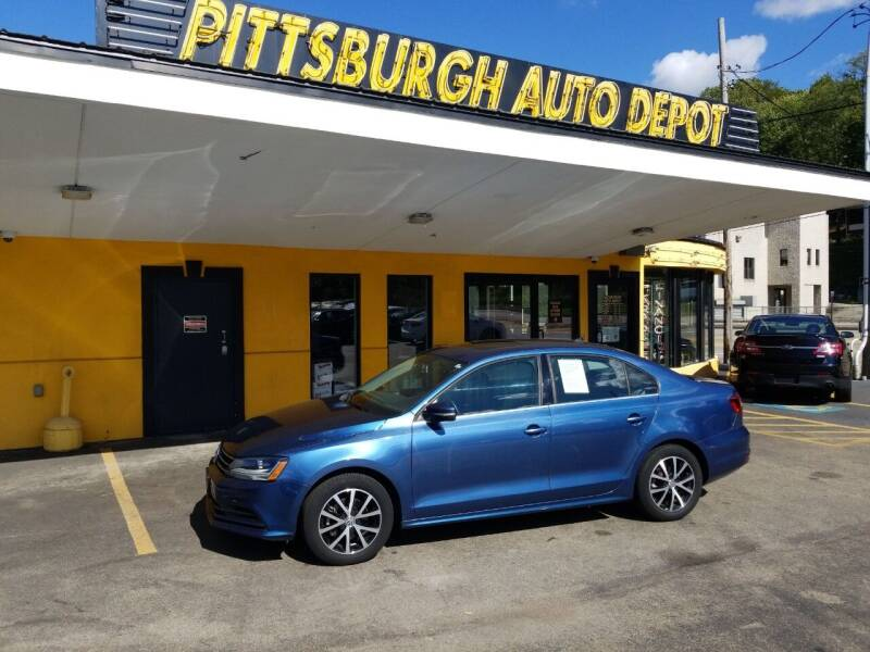 2017 Volkswagen Jetta for sale at Pittsburgh Auto Depot in Pittsburgh PA