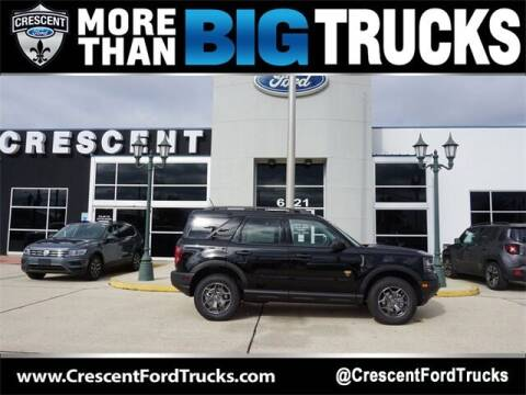 2021 Ford Bronco Sport for sale at Crescent Ford in Harahan LA