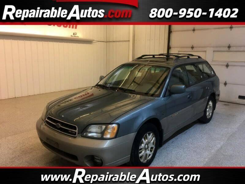 2002 Subaru Outback for sale at Ken's Auto in Strasburg ND