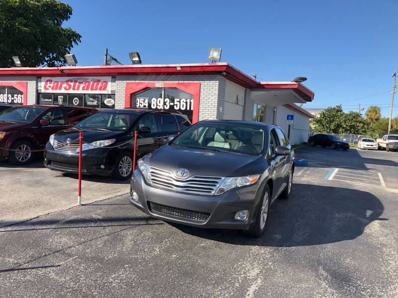 2012 Toyota Venza for sale at CARSTRADA in Hollywood FL
