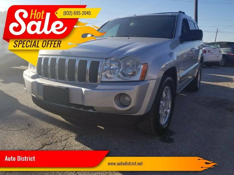 2006 Jeep Grand Cherokee for sale at Auto District in Baytown TX