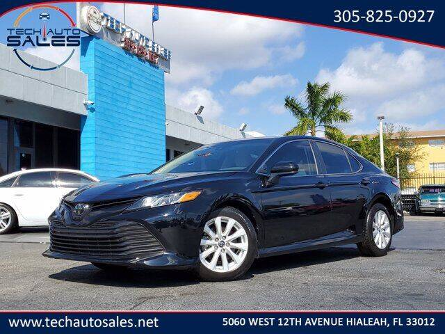 2018 Toyota Camry for sale at Tech Auto Sales in Hialeah FL