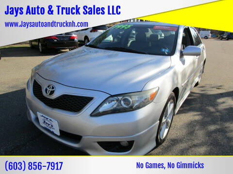 2011 Toyota Camry for sale at Jays Auto & Truck Sales LLC in Loudon NH