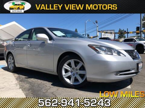 2007 Lexus ES 350 for sale at Valley View Motors in Whittier CA