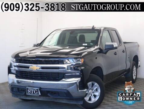2020 Chevrolet Silverado 1500 for sale at STG Auto Group in Montclair CA