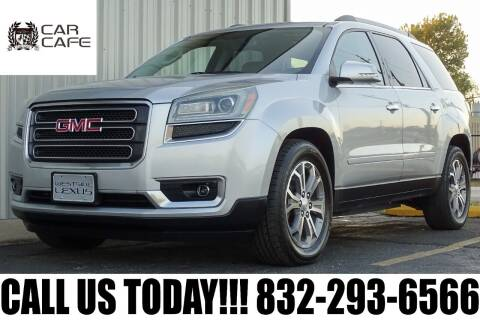 2013 GMC Acadia for sale at CAR CAFE LLC in Houston TX