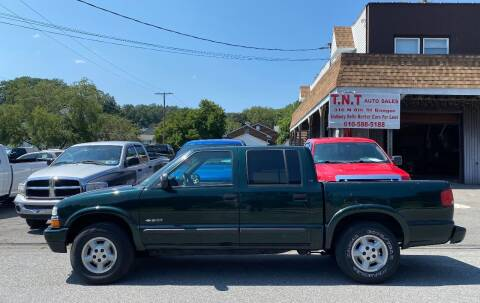 2004 Chevrolet S-10 for sale at TNT Auto Sales in Bangor PA