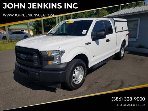 2017 Ford F-150 for sale at JOHN JENKINS INC in Palatka FL
