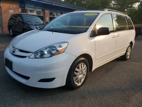 2008 Toyota Sienna for sale at CENTRAL AUTO GROUP in Raritan NJ