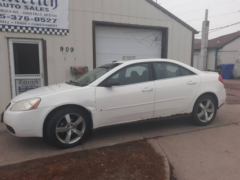 2008 Pontiac G6 for sale at ZITTERICH AUTO SALE'S in Sioux Falls SD