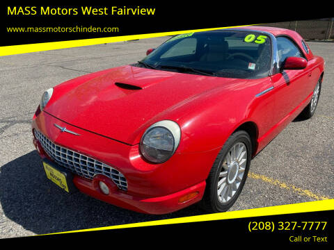 2005 Ford Thunderbird for sale at M.A.S.S. Motors - West Fairview in Boise ID
