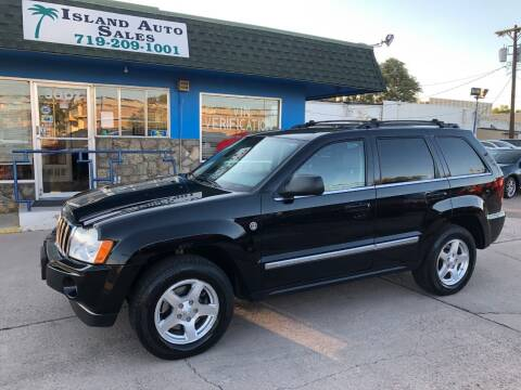 2006 Jeep Grand Cherokee for sale at Island Auto Sales in Colorado Springs CO