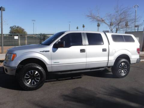 2012 Ford F-150 for sale at J & E Auto Sales in Phoenix AZ