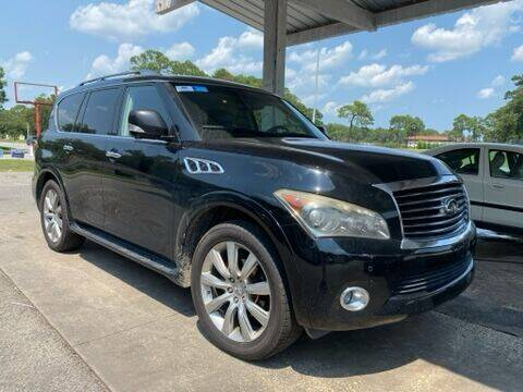 2012 Infiniti QX56 for sale at GOLD COAST IMPORT OUTLET in Saint Simons Island GA