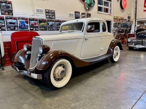 1934 Ford Deluxe for sale at Drager's International Classic Sales in Burlington WA