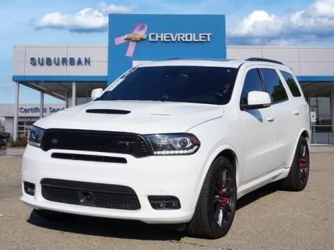 2018 Dodge Durango for sale at Suburban Chevrolet of Ann Arbor in Ann Arbor MI