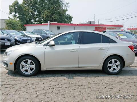 2016 Chevrolet Cruze Limited for sale at Dealers Choice Inc in Farmersville CA