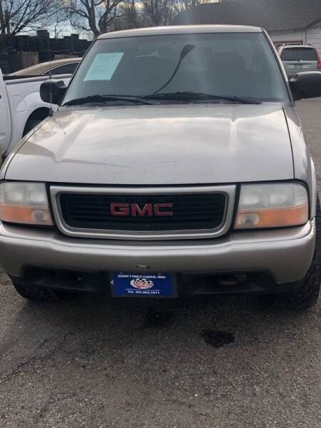 2001 GMC Sonoma for sale at Martinez Cars, Inc. in Lakewood CO